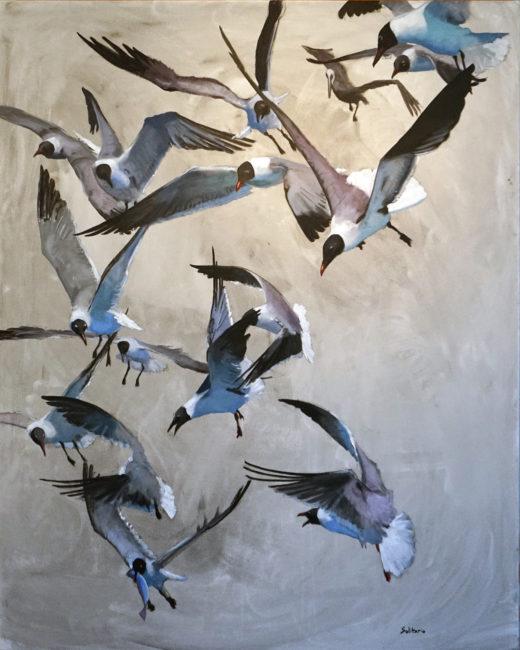 Gulls 48x60