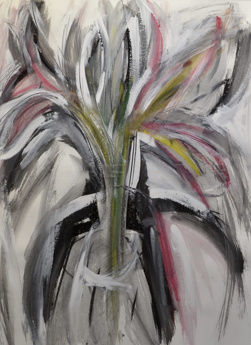 Lilies in a Vase   unsigned
