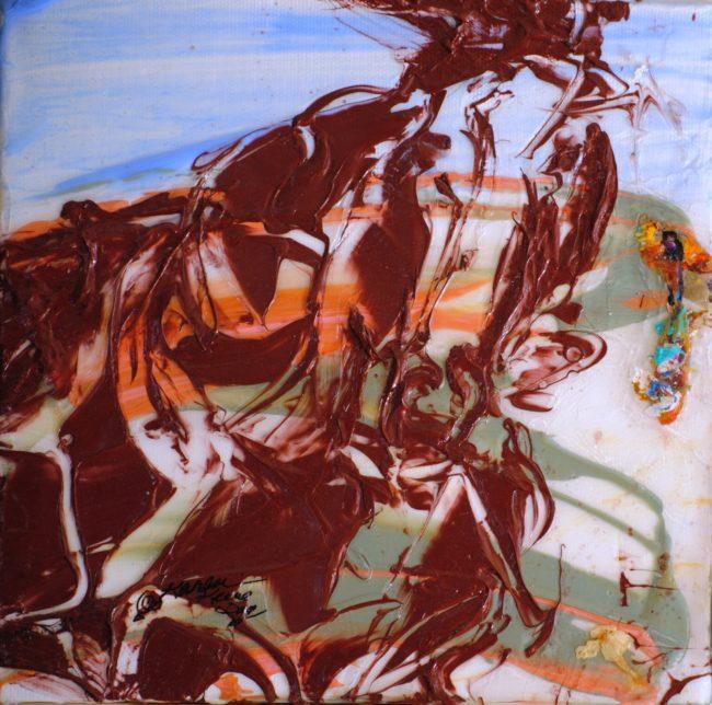 MWWH#68 Sundance wild stallion @2010 8x8DisValSprCrkBasin