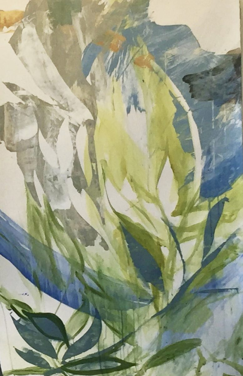 Untitled (Green, Blue)